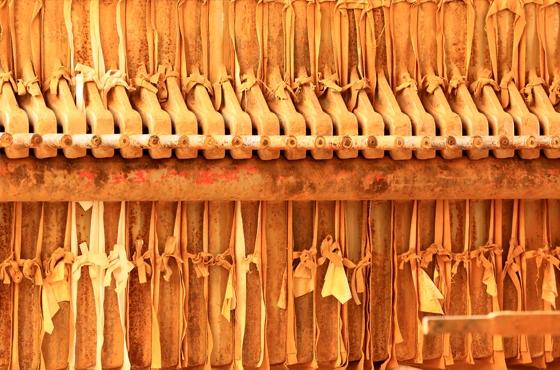 Ateliers du musée de la céramique Terra Rossa à Salernes. Photo Moirenc