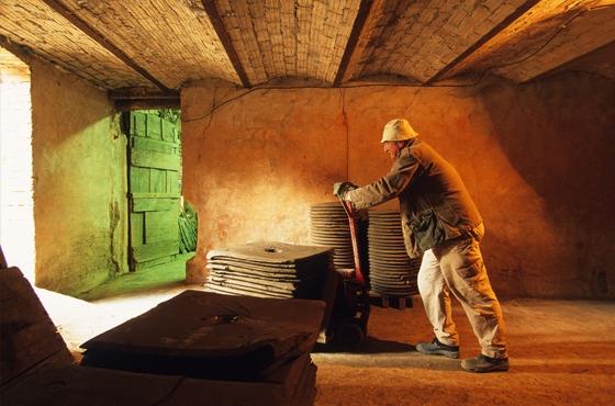 Ateliers du musée de la céramique Terra Rossa à Salernes