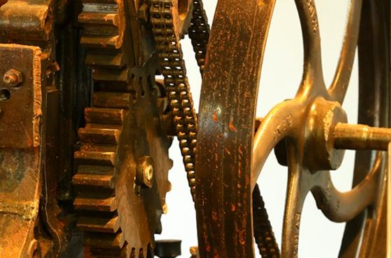 Musée de la céramique Terra Rossa à Salernes ateliers . Photo Moirenc