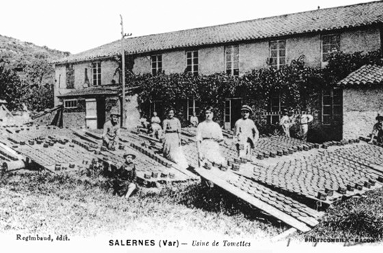 Usine de Tomettes à Salernes