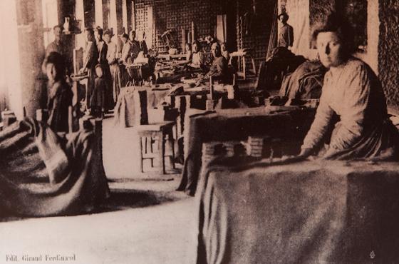 Musée de la céramique Terra Rossa à Salernes : fabrication céramique