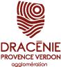 logo de l'agglomération Dracenie Provence Verdon Maison de la céramique Terra Rossa, Salernes