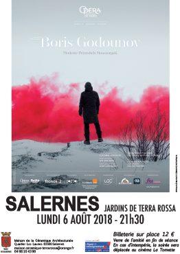 Affiche de la séance de cinéma, opéra : Boris Godounov