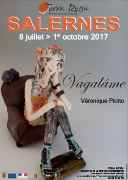 Affiche de l'exposition de céramiques