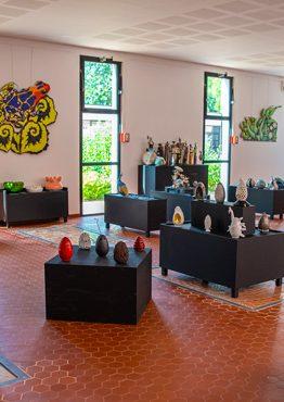 Exposition de peintres et de céramistes salernois Exposition de peintres et de céramistes salernois à Terra Rossa, Maison de la céramique architecturale