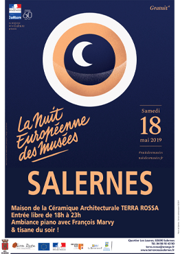 Affiche de la nuit européenne des musées 2018, Salernes