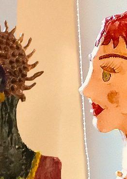Musée de la céramique Terra Rossa à Salernes : Exposition céramique IME