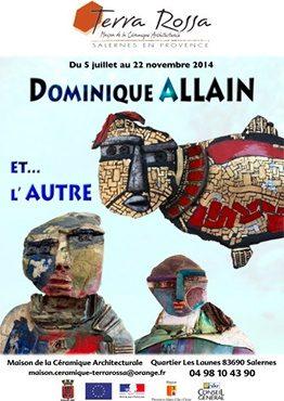Dominique Allain et l'autre, exposition Maison de la céramique Terra Rossa, Salernes