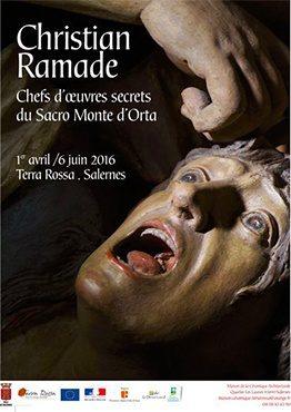 Chefs Oeuvres Secrets Sacro Monte d'Orta exposition Maison de la céramique Terra Rossa, Salernes