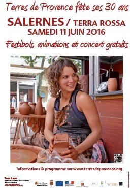 Terre de Provence fête ses 30 ans, animations, concerts, exposition Maison de la céramique Terra Rossa, Salernes