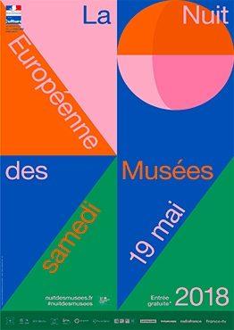 Affiche de la nuit européenne des musées 2019 Maison de la céramique Terra Rossa, Salernes