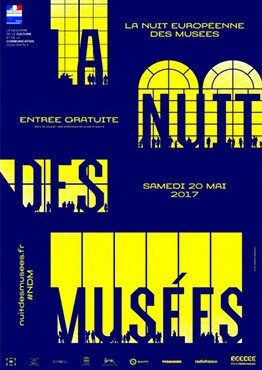 La nuit européenne des musées 2017